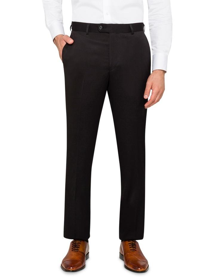 Black False Plain Trouser VTSM026Z_RBLK image 1