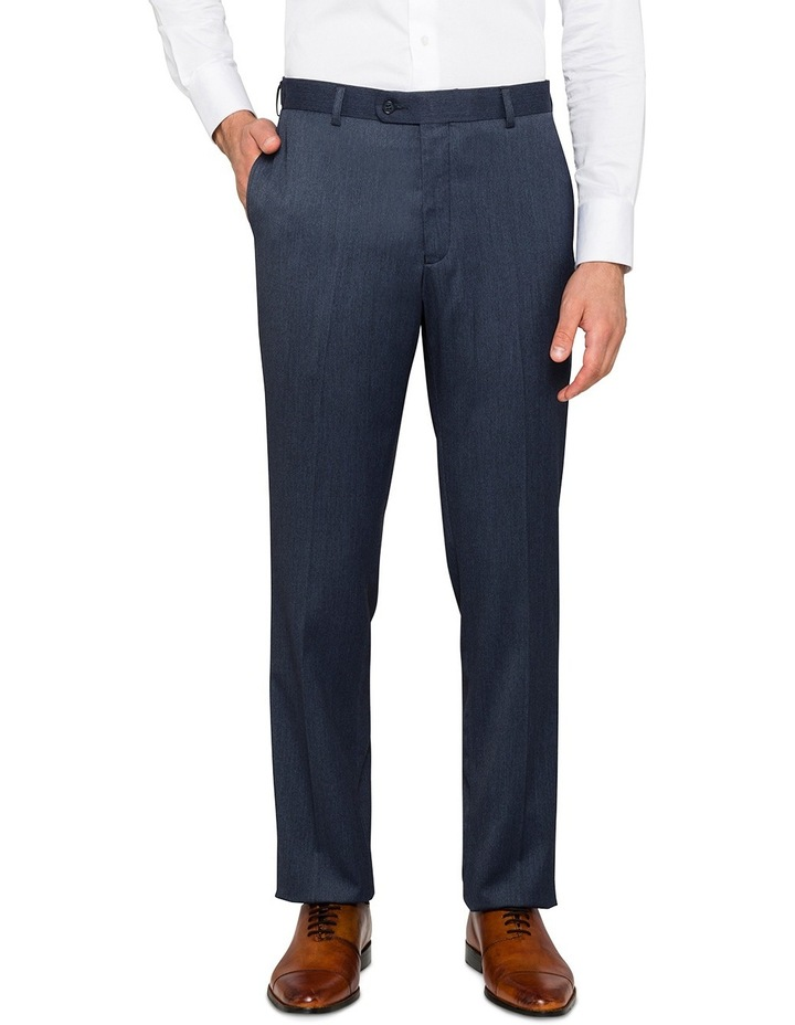 Slim Fit Denim False Plain Trouser VTSM026Z_RBDN image 1