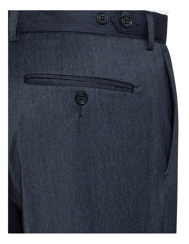 Slim Fit Denim False Plain Trouser VTSM026Z_RBDN image 3