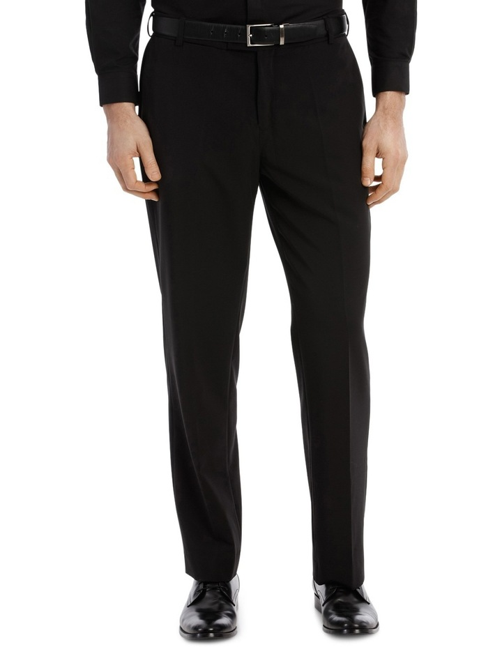 4 Way Stretch Black Trouser image 1