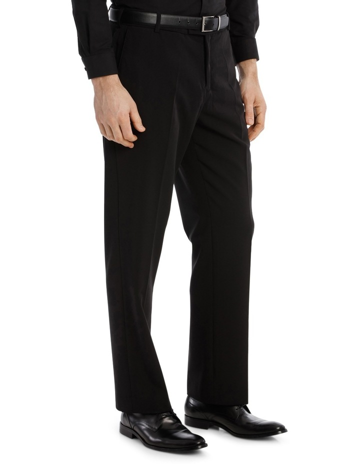 4 Way Stretch Black Trouser image 2