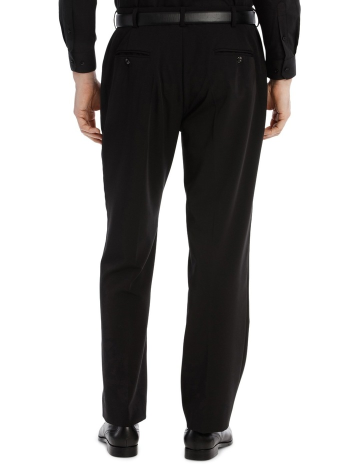 4 Way Stretch Black Trouser image 3