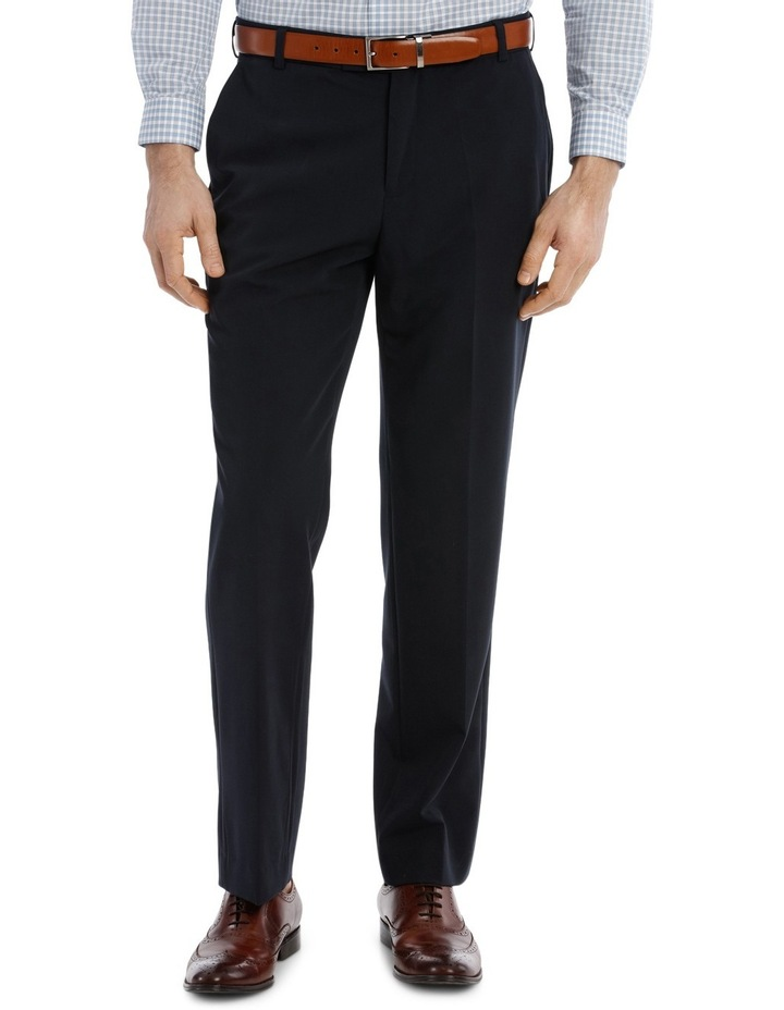 4 Way Stretch Navy Trouser image 1