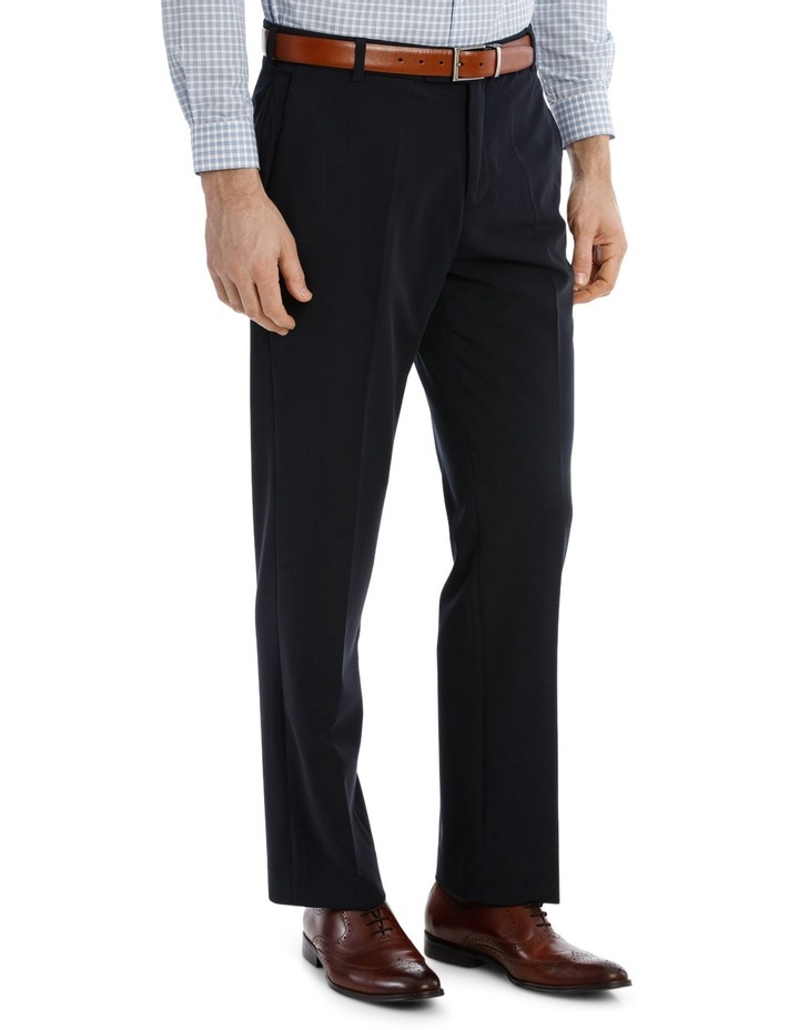 4 Way Stretch Navy Trouser image 2