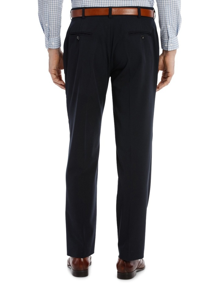 4 Way Stretch Navy Trouser image 3