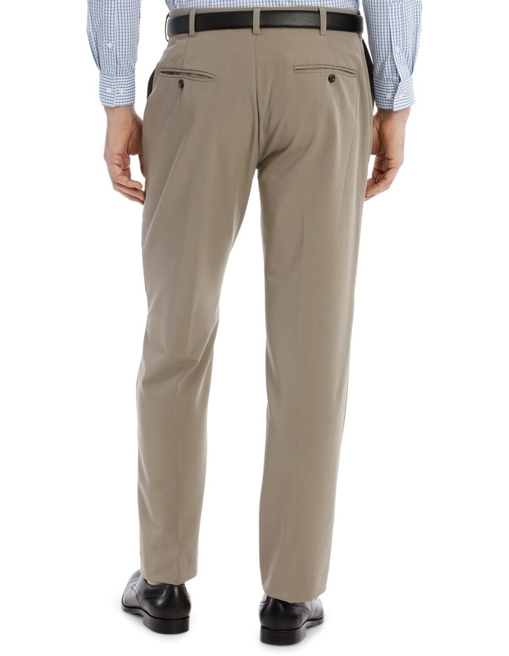 4 Way Stretch Taupe Trouser image 3