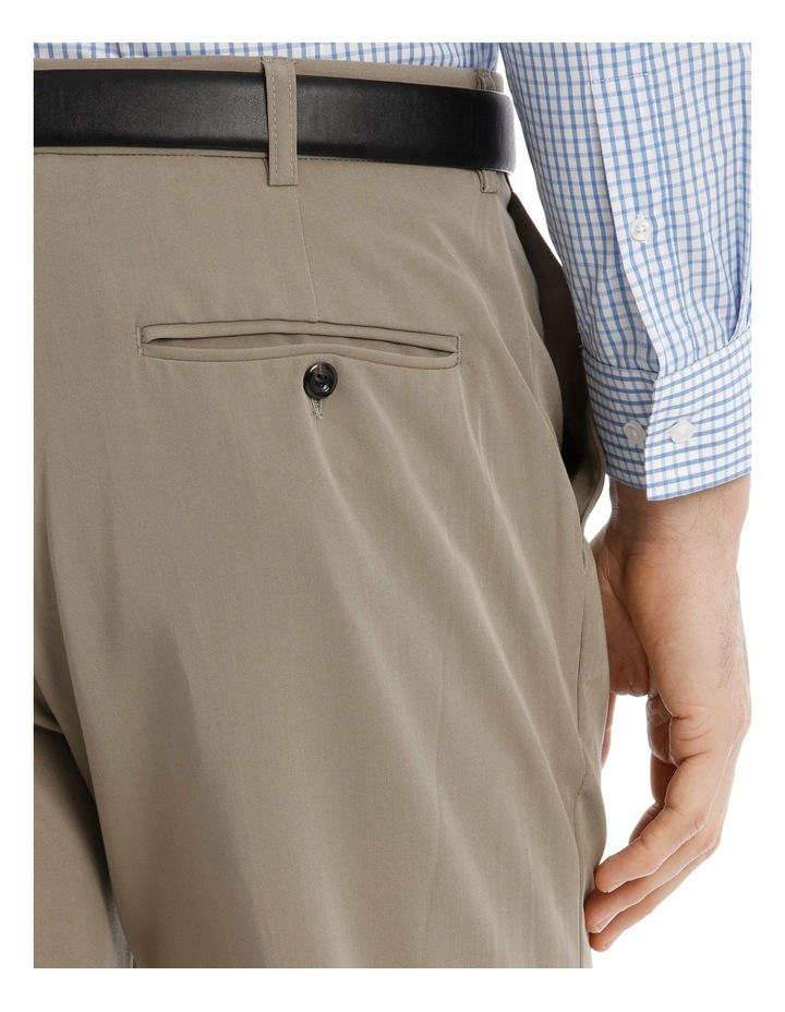 4 Way Stretch Taupe Trouser image 4