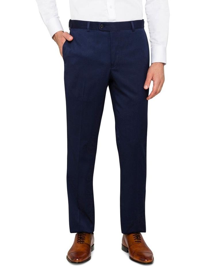 Navy False Plain Trouser image 1
