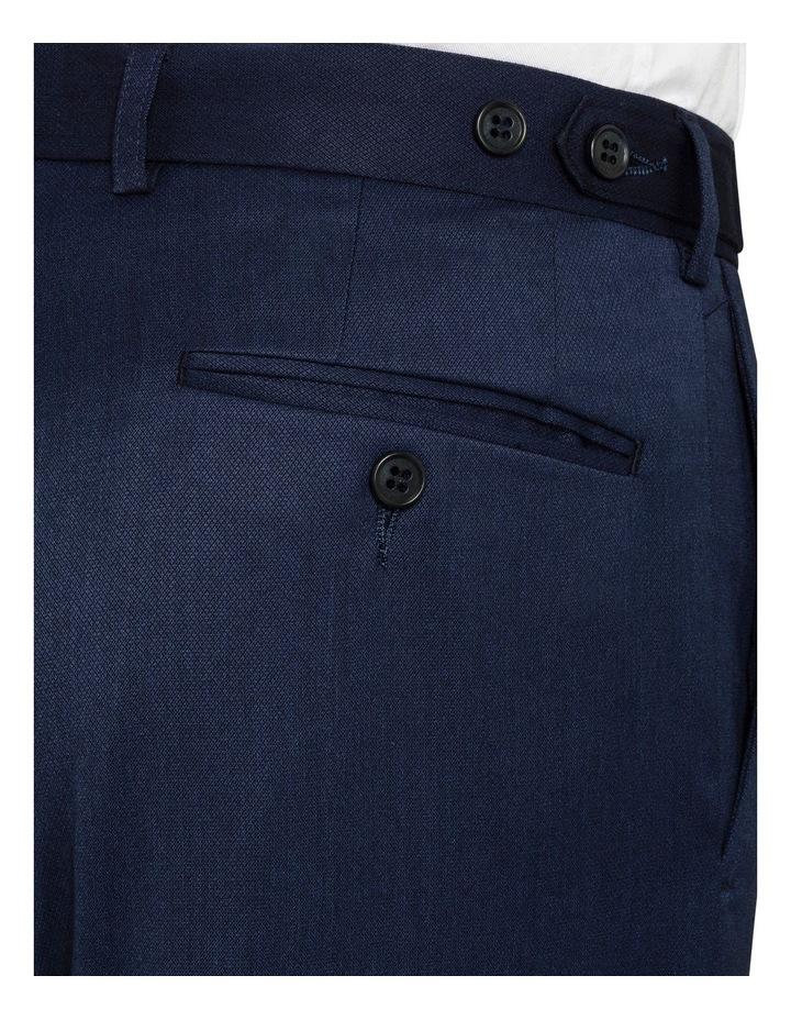 Navy False Plain Trouser image 3