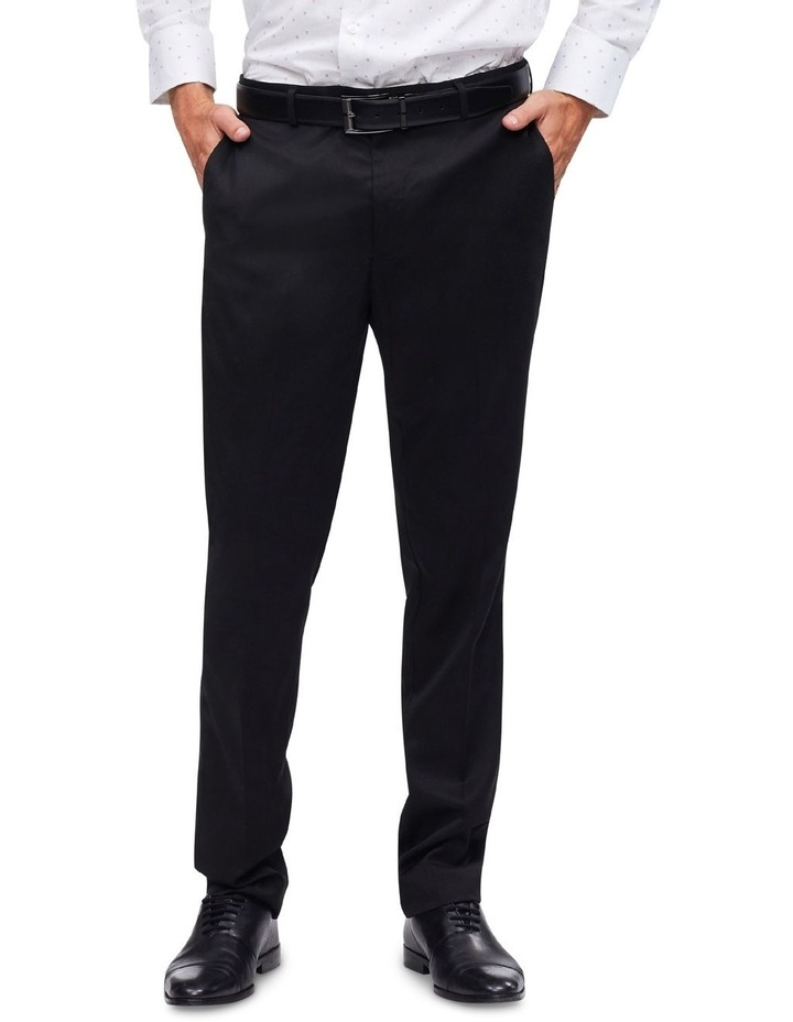 Black Plain Trouser image 1