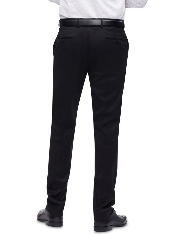 Black Plain Trouser image 2