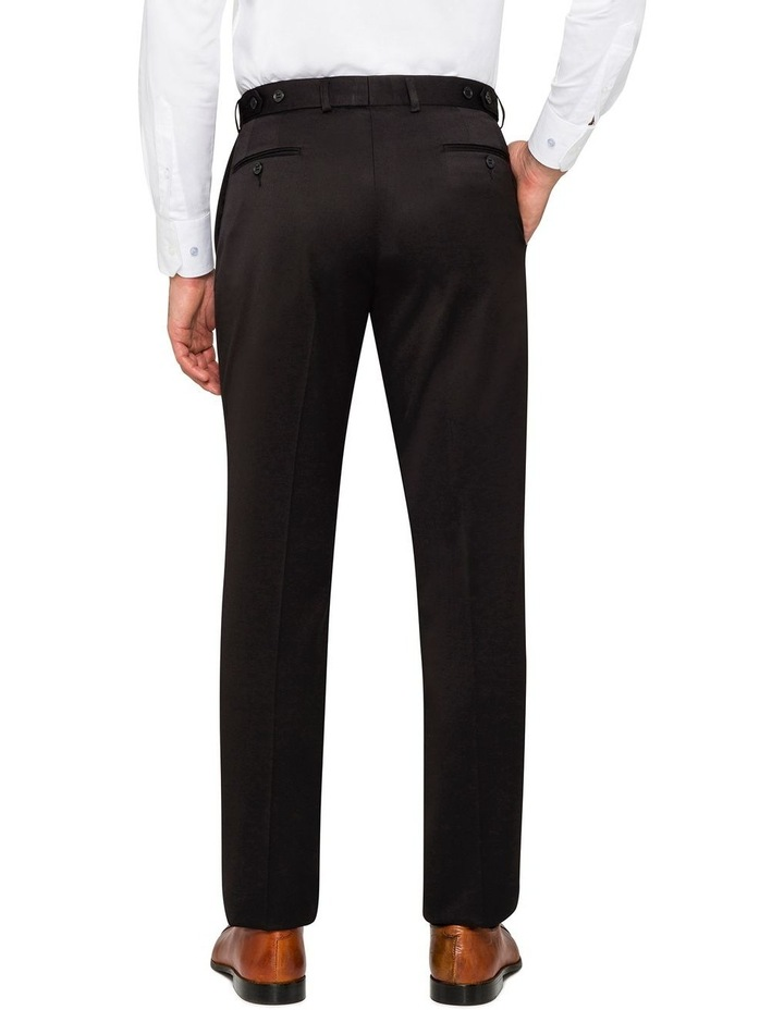 BLACK FALSE PLAIN TROUSER image 2