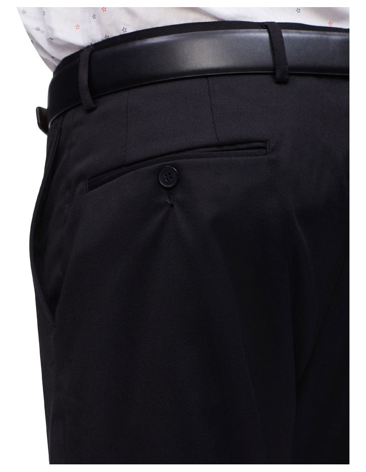 Black Plain Trouser image 3