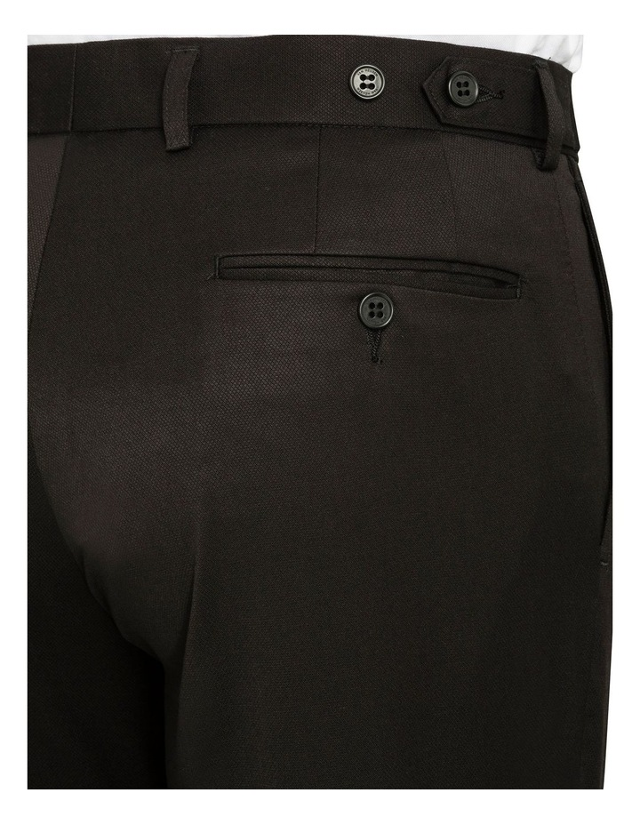 BLACK FALSE PLAIN TROUSER image 3