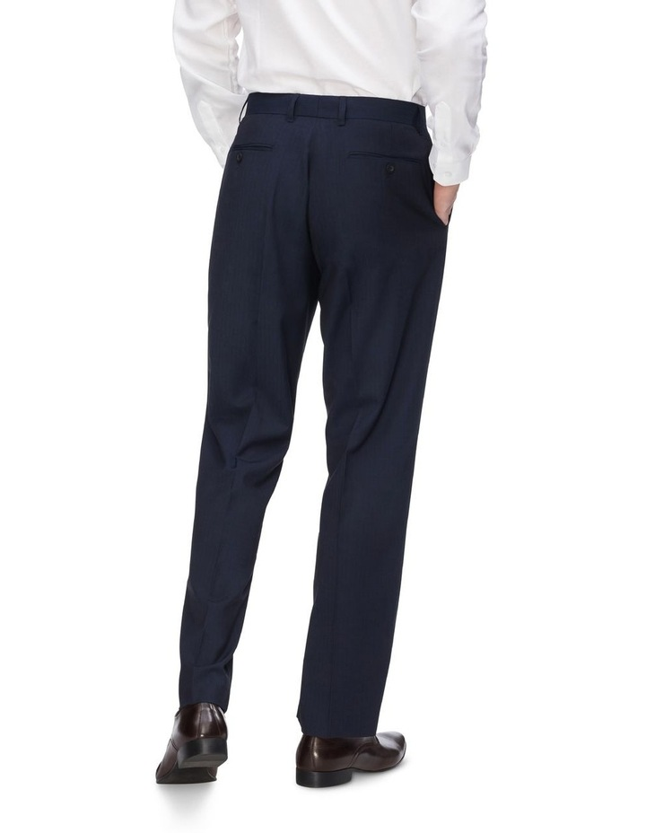 Textured Plain Trousers image 2