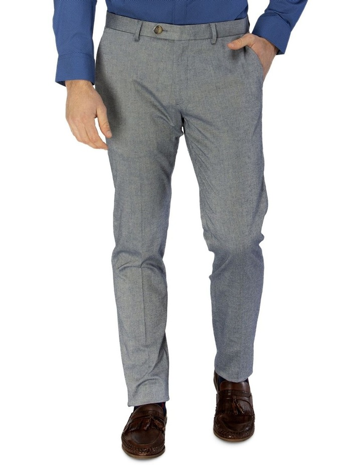Stretch Herringbone Weave Trouser image 1