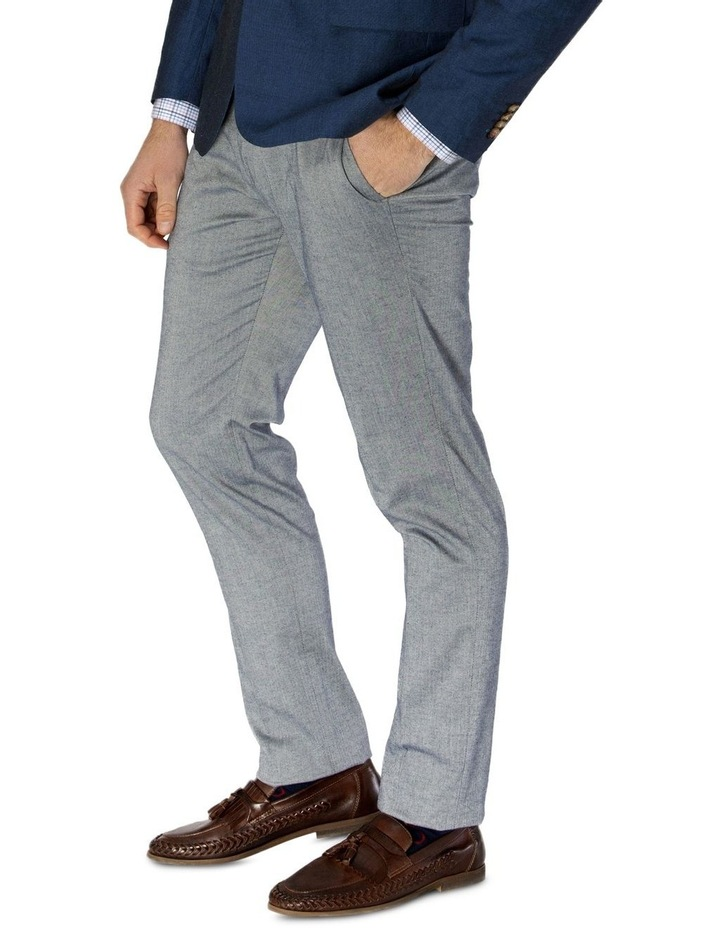 Stretch Herringbone Weave Trouser image 2