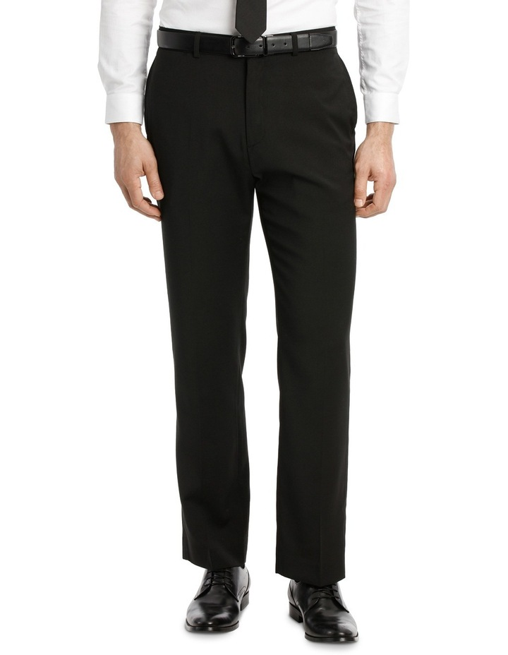 Navy Flat Front Trouser image 1