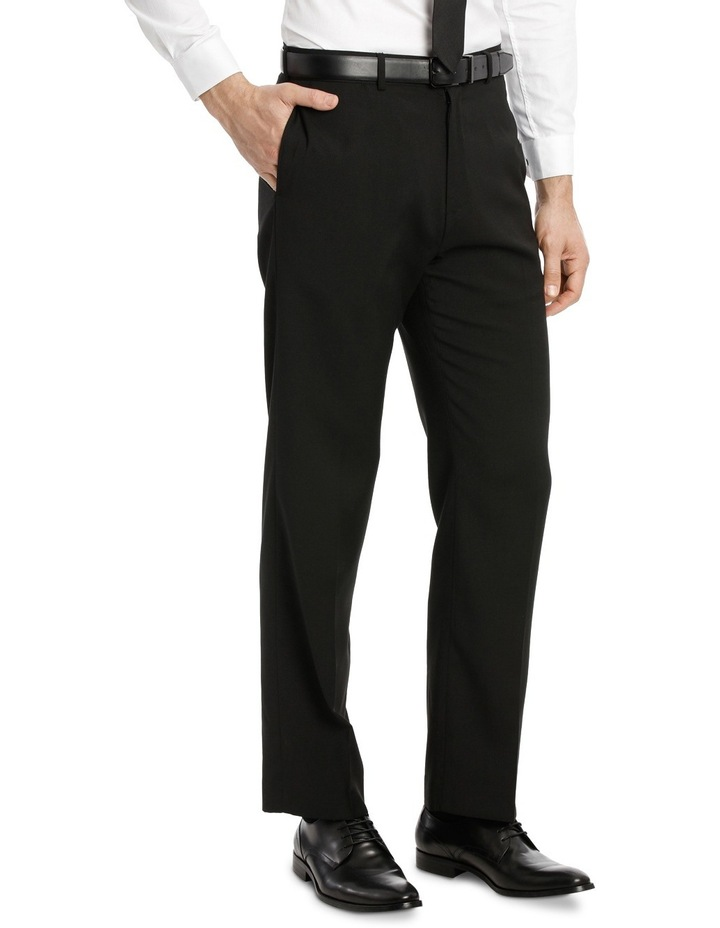 Navy Flat Front Trouser image 2
