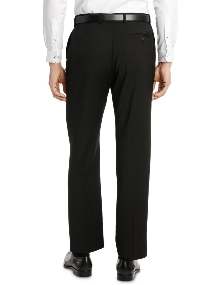 Navy Flat Front Trouser image 3