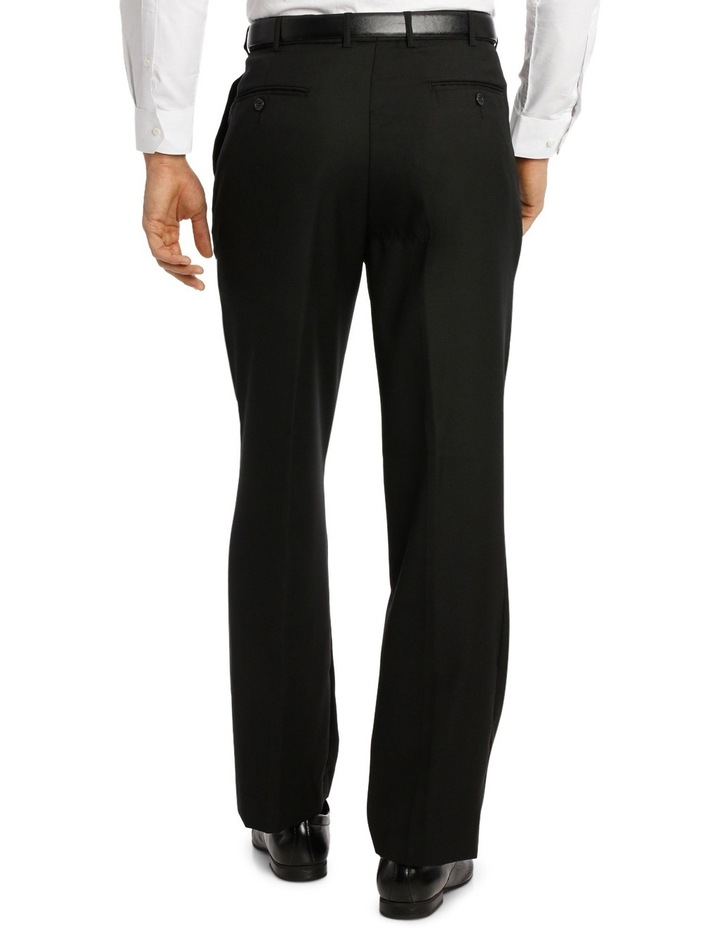 Relaxed Fit Easy Care Single Pleat Navy Business Trouser image 3