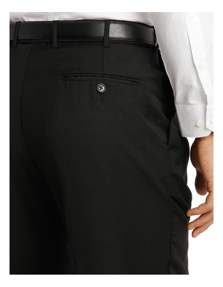 Relaxed Fit Easy Care Single Pleat Navy Business Trouser image 4