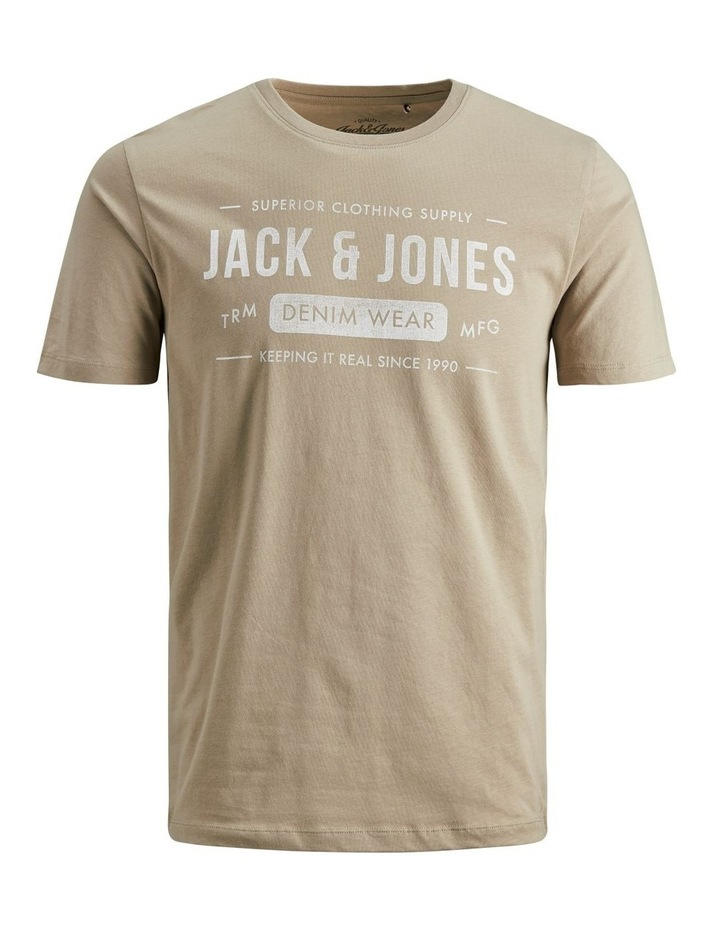Jeans Crew Neck T-Shirt image 1