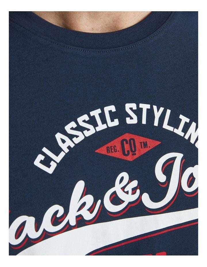 Logo O-Neck T-Shirt image 5