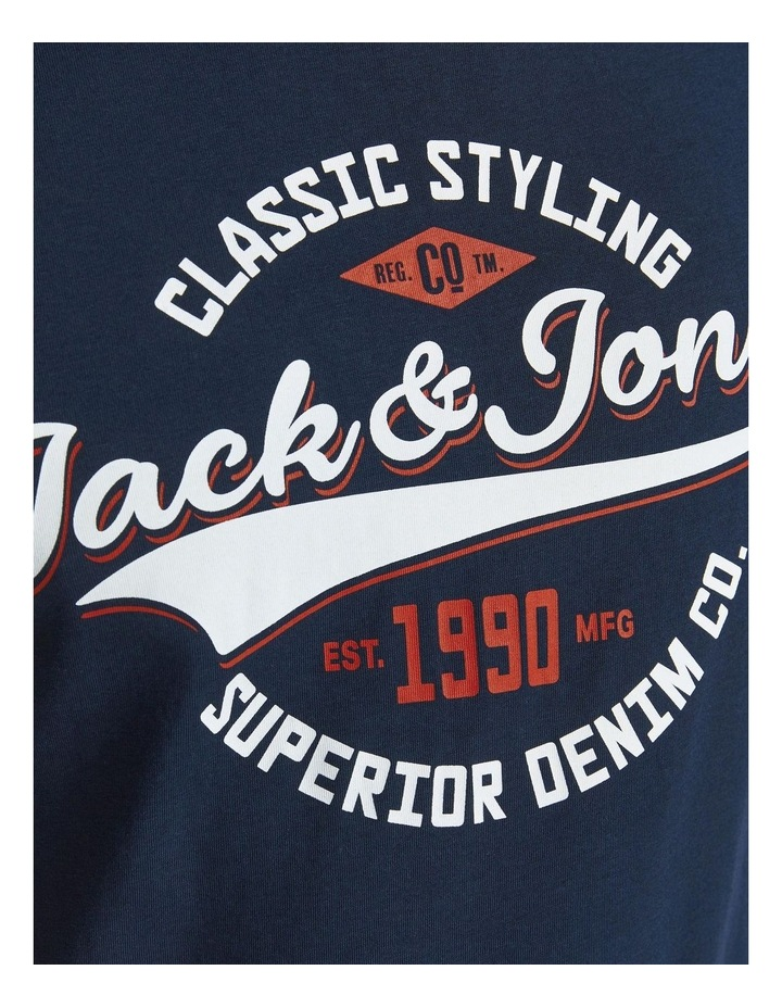 Logo O-Neck T-Shirt image 6