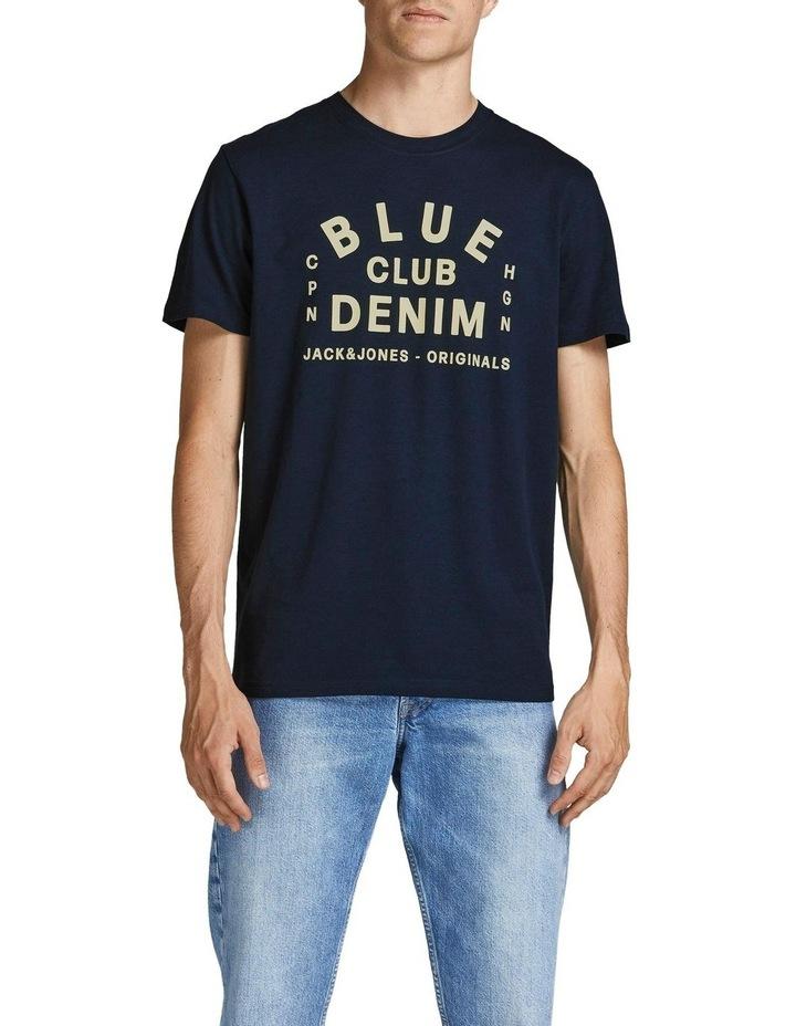 Archie Branding T-Shirt Navy image 1