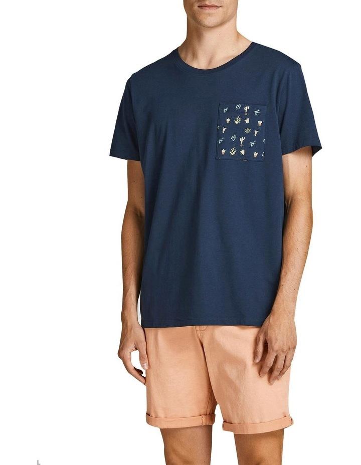 Sokkulent Pocket T-Shirt Navy image 1