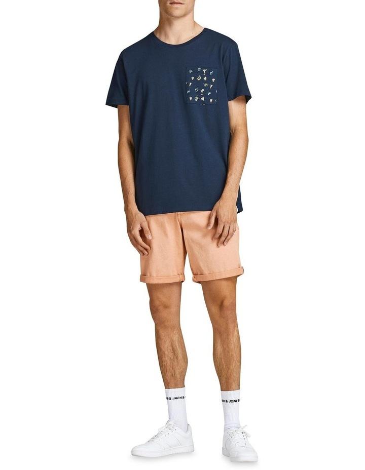 Sokkulent Pocket T-Shirt Navy image 3