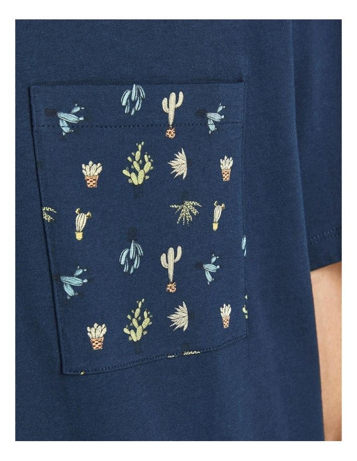 Sokkulent Pocket T-Shirt Navy image 5
