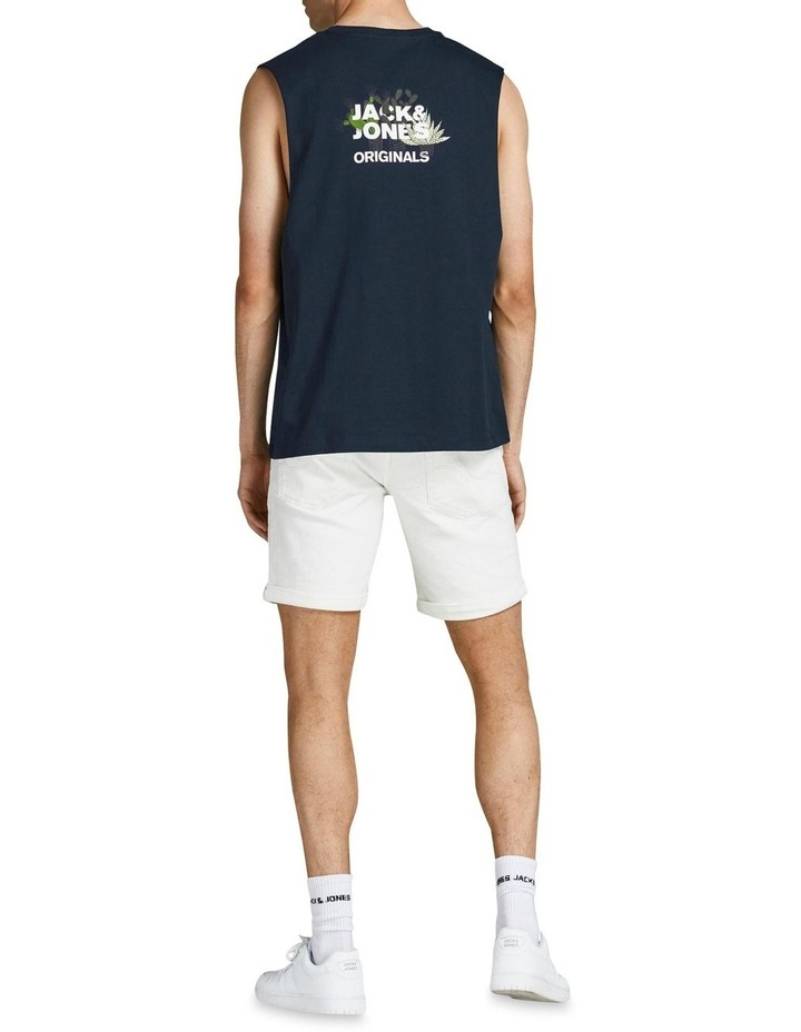 Kaktus Sleeveless T-Shirt Navy image 2