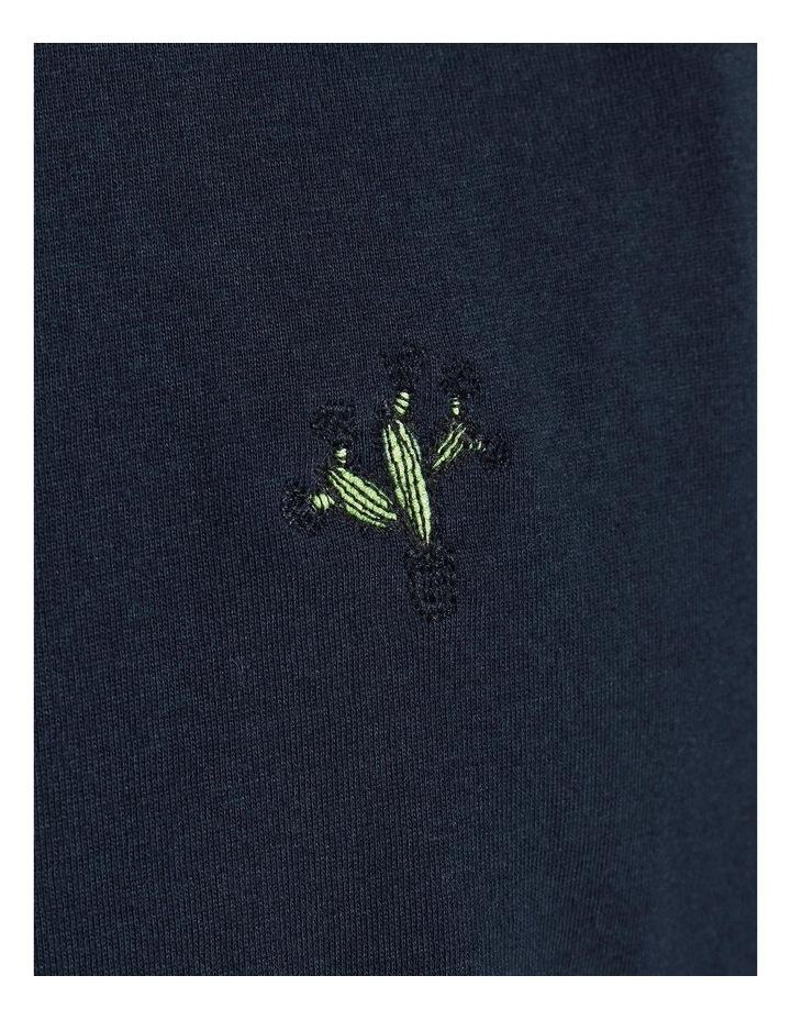 Kaktus Sleeveless T-Shirt Navy image 5
