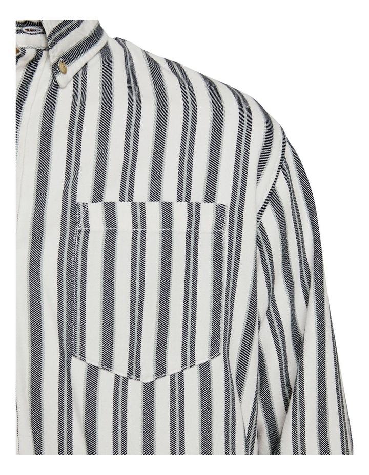 Flannel Stripe Shirt image 5