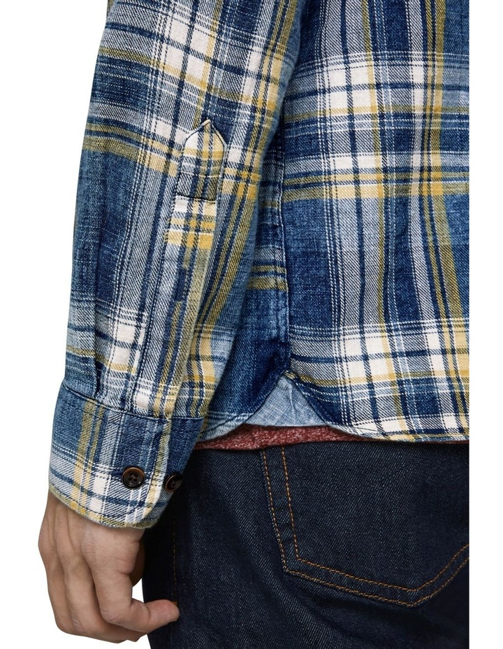 Hans Long Sleeve Checked Shirt image 5