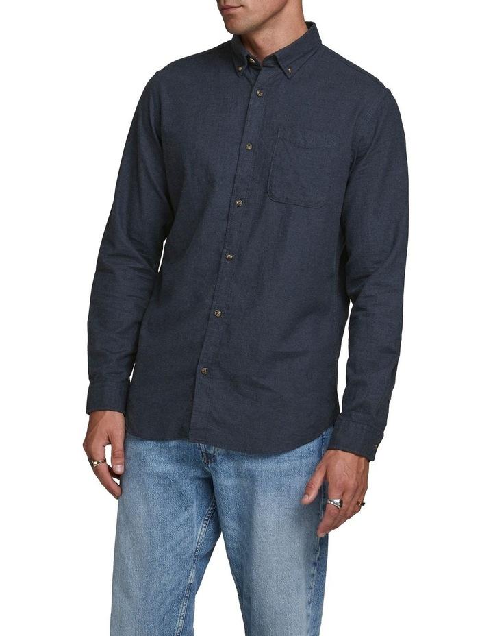 Classic Melange Long-Sleeve Shirt image 1