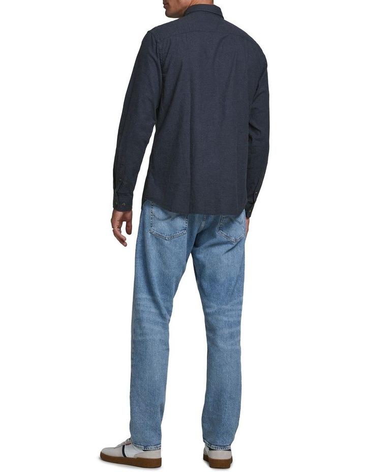 Classic Melange Long-Sleeve Shirt image 2