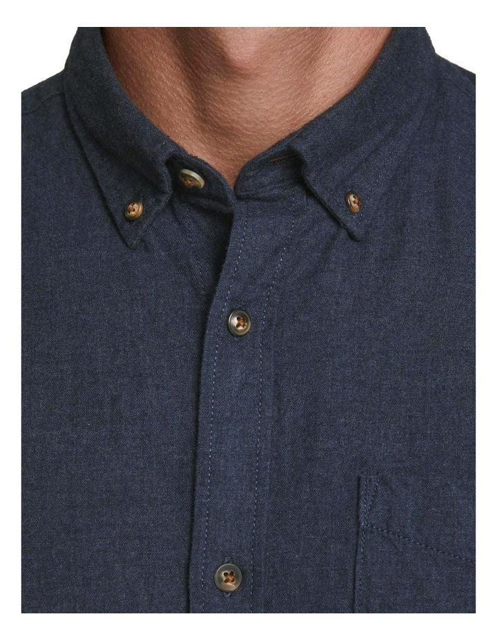 Classic Melange Long-Sleeve Shirt image 3