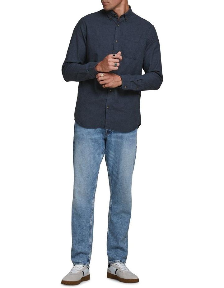 Classic Melange Long-Sleeve Shirt image 4