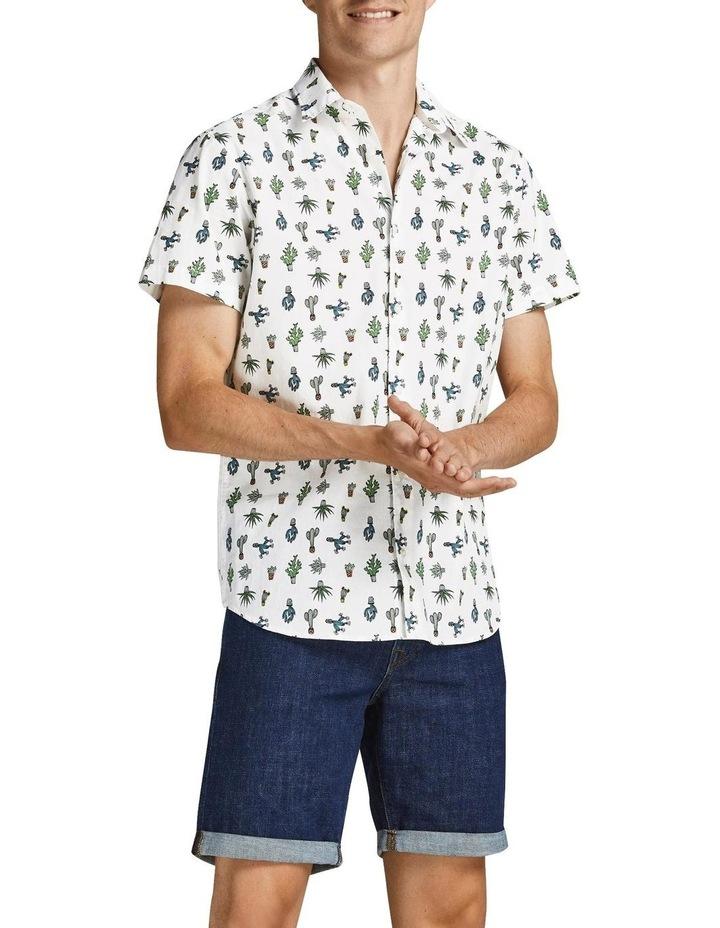 Kaktus Short Sleeve Shirt White image 4