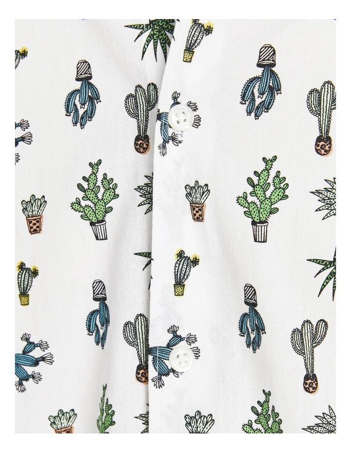 Kaktus Short Sleeve Shirt White image 6