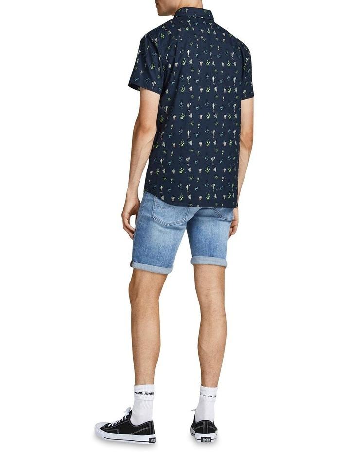 Kaktus Short Sleeve Shirt Navy image 2