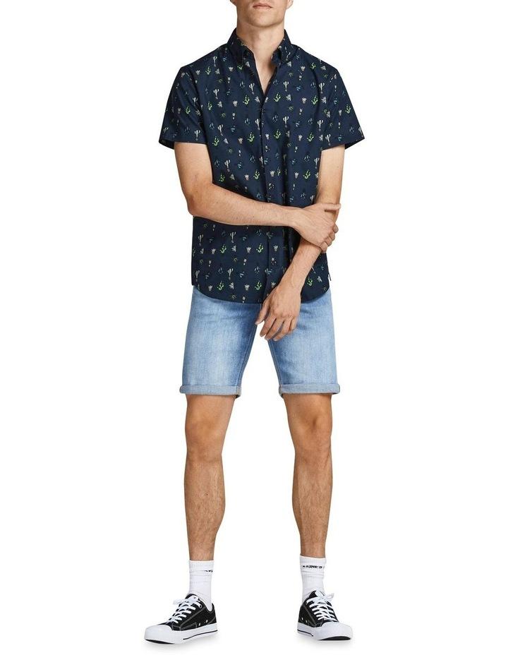 Kaktus Short Sleeve Shirt Navy image 3