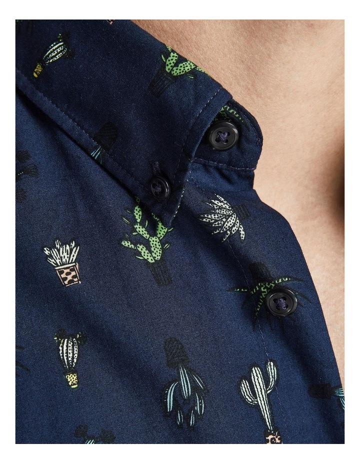 Kaktus Short Sleeve Shirt Navy image 5