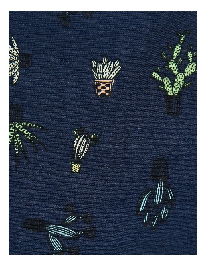 Kaktus Short Sleeve Shirt Navy image 6