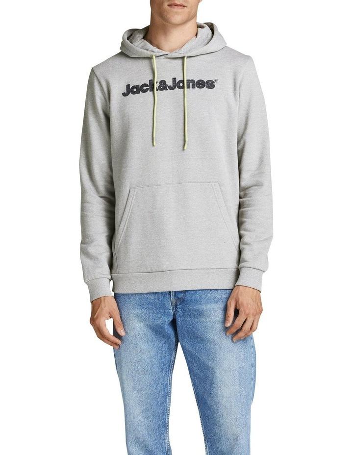Jaxons Sweat Hoodie Light Grey image 1