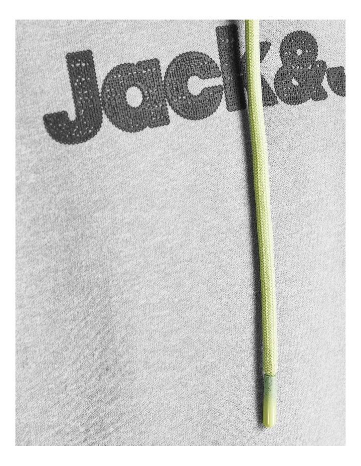 Jaxons Sweat Hoodie Light Grey image 5