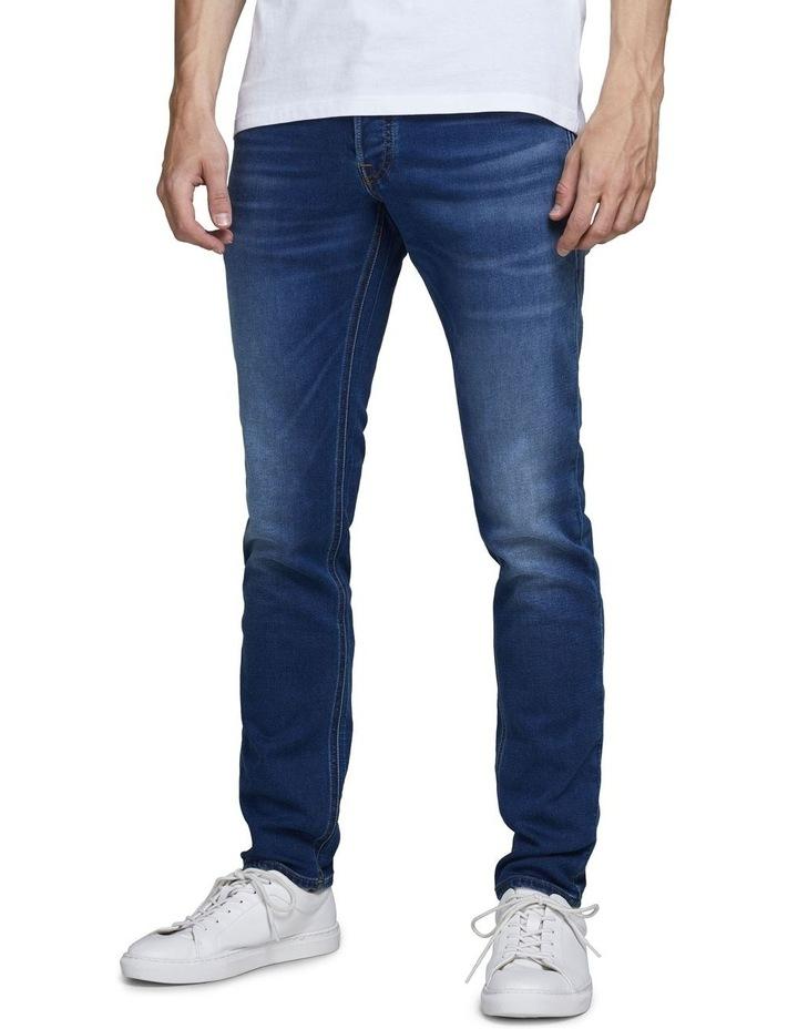 Glenn Indigo Knit Slim Fit Jeans image 1
